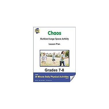 On The Mark Press Chaos Lesson Plan Physical Education Workbook, Grade 7 - Grade 8 [eBook]
