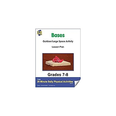 On The Mark Press Bases Lesson Plan Physical Education Workbook, Grade 7 - Grade 8 [eBook]