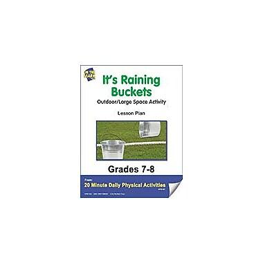 On The Mark Press It's Raining Buckets Lesson Plan Physical Education Workbook, Grade 7 - Grade 8 [eBook]