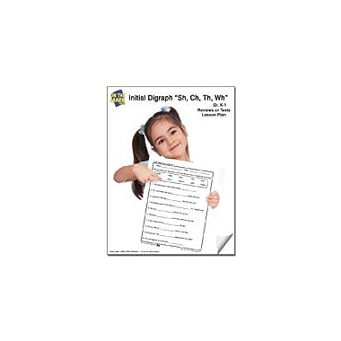 On The Mark Press Digraph Reviews Or Tests Lesson Plan Reading & Writing Workbook, Kindergarten - Grade 1 [eBook]