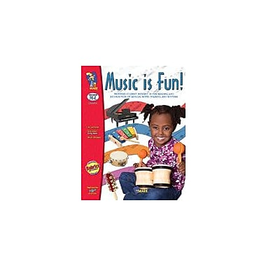 On The Mark Press Music Is Fun! (Prek-Kindergarten) Art & Music Workbook, Preschool - Kindergarten [Enhanced eBook]