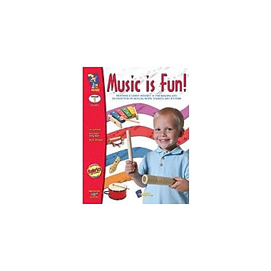 On The Mark Press Music Is Fun! Art & Music Workbook, Grade 1 [eBook]