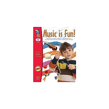 On The Mark Press Music Is Fun! Art & Music Workbook, Grade 2 [eBook]