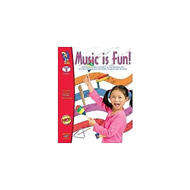 On The Mark Press Music Is Fun! Art & Music Workbook, Grade 3 [eBook]