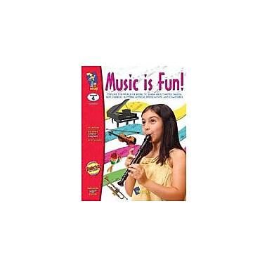 On The Mark Press Music Is Fun! Art & Music Workbook, Grade 4 [eBook]