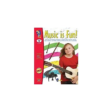 On The Mark Press Music Is Fun! Art & Music Workbook, Grade 5 [eBook]