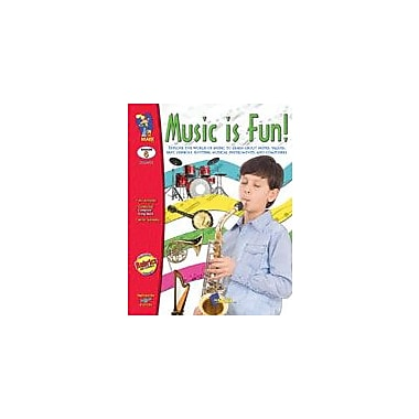 On The Mark Press Music Is Fun! Art & Music Workbook, Grade 6 [eBook]