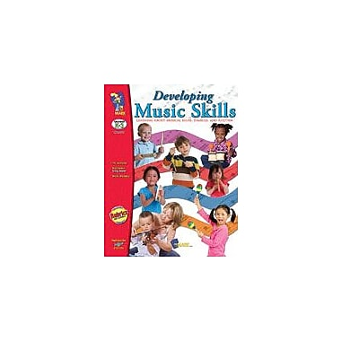 On The Mark Press Developing Music Skills (Kindergarten) Art & Music Workbook, Kindergarten - Grade 3 [Enhanced eBook]