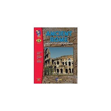 On The Mark Press Ancient Rome Social Studies Workbook, Grade 4 - Grade 6 [eBook]