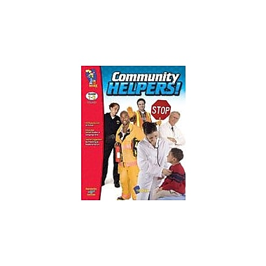 On The Mark Press Community Helpers Social Studies Workbook, Grade 1 - Grade 3 [eBook]