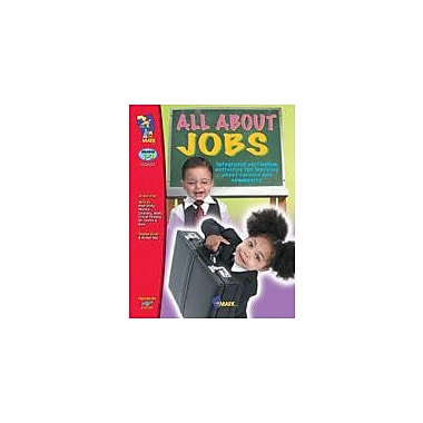 On The Mark Press All About Jobs Business Workbook, Grade 1 - Grade 3 [eBook]