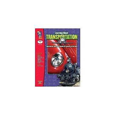 On The Mark Press Learning About Transportation Reading & Writing Workbook, Grade 1 [eBook]