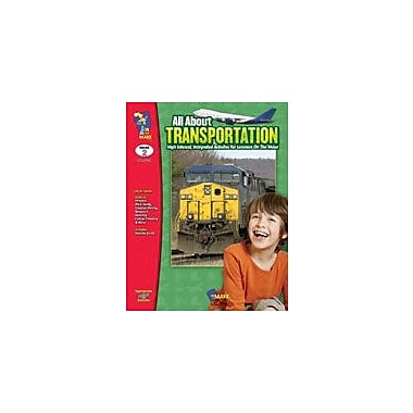 On The Mark Press All About Transportation Reading & Writing Workbook, Grade 2 [Enhanced eBook]