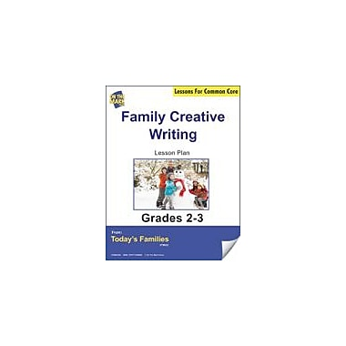On The Mark Press Familiy Creative Writing Gr. 2-3 Aligned to Common Core E-Lesson Plan Workbook, Grade 2 - Grade 3 [eBook]