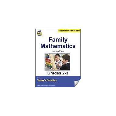 On The Mark Press Family Mathematics Gr. 2-3 Aligned to Common Core E-Lesson Plan Workbook, Grade 2 - Grade 3 [eBook]