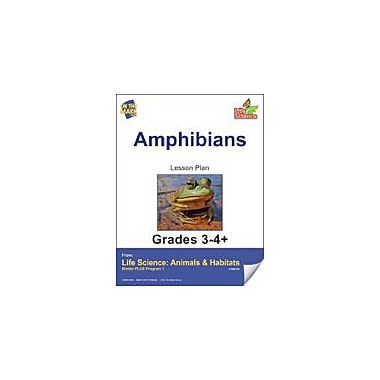 On The Mark Press Life Science Animals & Habitats, Amphibians E-Lesson Plan & Reading Folder Workbook, Grade 3 - Grade 4 [eBook]