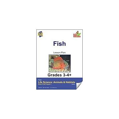 On The Mark Press Life Science Animals & Habitats, Fish E-Lesson Plan & Reading Folder Workbook, Grade 3 - Grade 4 [eBook]