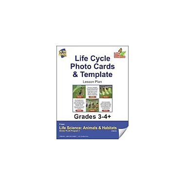 On The Mark Press Life Science Animals & Habitats, Photo Activity Cards & Classification Labels Workbook [eBook]