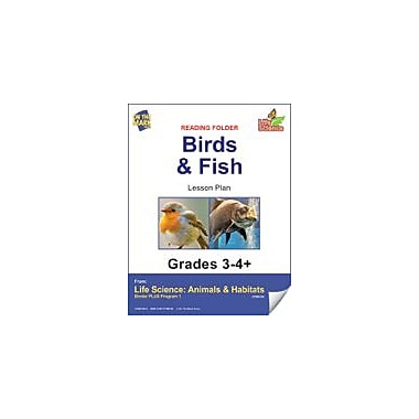 On The Mark Press Life Science Animals & Habitats, Bingo Game Science Workbook, Grade 3 - Grade 4 [eBook]