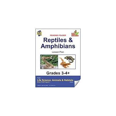 On The Mark Press Life Science Animals & Habitats, Reading Folder, Mammals Science Workbook, Grade 3 - Grade 4 [eBook]
