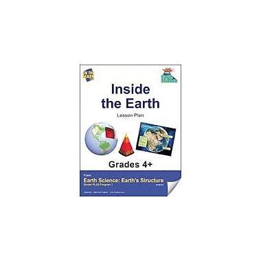 On The Mark Press Earth Science, Inside the Earth E-Lesson Plan Science Workbook, Grade 4 - Grade 6 [eBook]
