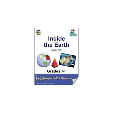On The Mark Press Earth Science, Inside the Earth E-Lesson Plan Science Workbook, Grade 4 - Grade 6 [eBook]