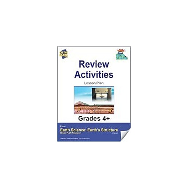 On The Mark Press Earth Science, Review Activities Science Workbook, Grade 4 - Grade 6 [eBook]