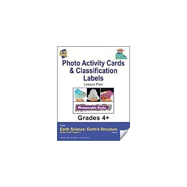 On The Mark Press Earth Science, Photo Activity Cards & Classification Labels Science Workbook, Grade 4 - Grade 6 [eBook]