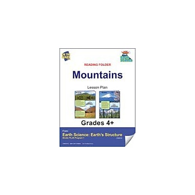 On The Mark Press Earth Science, Reading Folder, Mountains Science Workbook, Grade 4 - Grade 6 [eBook]