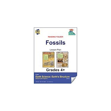 On The Mark Press Earth Science, Reading Folder, Fossils Science Workbook, Grade 4 - Grade 6 [eBook]