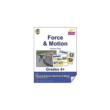 On The Mark Press Physical Science, Force & Motion E-Lesson Plan Physical Education Workbook, Grade 4 - Grade 6 [eBook]