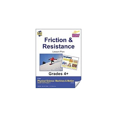 On The Mark Press Physical Science, Friction and Resistance E-Lesson Plan Physical Education Workbook, Grade 4 - Grade 6 [eBook]