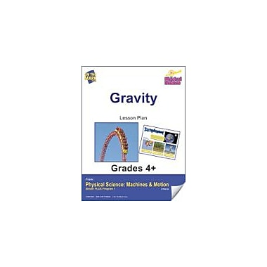 On The Mark Press Physical Science, Gravity E-Lesson Plan Physical Education Workbook, Grade 4 - Grade 6 [eBook]