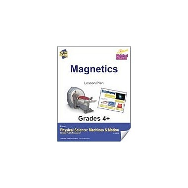 On The Mark Press Physical Science, Magnetics E-Lesson Plan Physical Education Workbook, Grade 4 - Grade 6 [eBook]