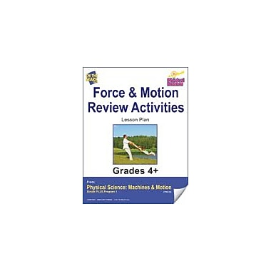 On The Mark Press Physical Science, Force & Motion, Review Activities Physical Education Workbook, Grade 4 - Grade 6 [eBook]