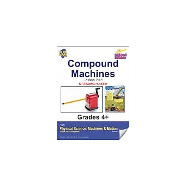 On The Mark Press Physical Science, Compound Machines E-Lesson Plan & Reading Folder Workbook, Grade 4 - Grade 6 [eBook]