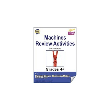 On The Mark Press Physical Science, Machines, Review Activities Physical Education Workbook, Grade 4 - Grade 6 [eBook]