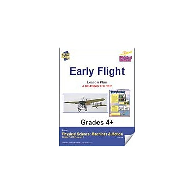 On The Mark Press Physical Science, Early Flight E-Lesson Plan & Reading Folder Workbook, Grade 4 - Grade 6 [eBook]