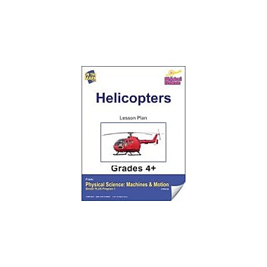 On The Mark Press Physical Science, Helicopters E-Lesson Plan Physical Education Workbook, Grade 4 - Grade 6 [eBook]
