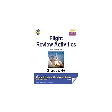 On The Mark Press Physical Science, Flight, Review Activities Physical Education Workbook, Grade 4 - Grade 6 [eBook]