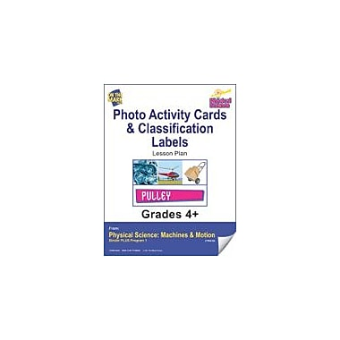 On The Mark Press Physical Science, Photo Activity Cards & Classification Labels Workbook, Grade 4 - Grade 6 [eBook]