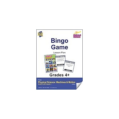 On The Mark Press Physical Science, Bingo Game Physical Education Workbook, Grade 4 - Grade 6 [eBook]