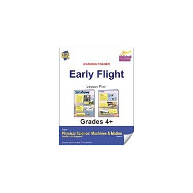 On The Mark Press Physical Science, Reading Folder, Early Flight Physical Education Workbook, Grade 4 - Grade 6 [eBook]