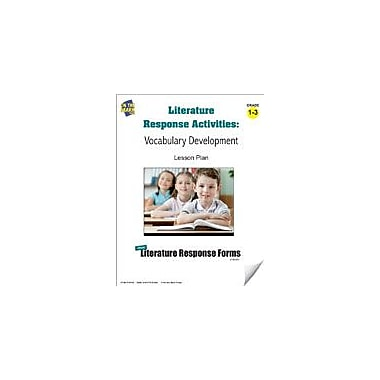 On The Mark Press Literature Response Activities: Vocabulary Development Grades 1-3 Workbook, Grade 1 - Grade 3 [eBook]