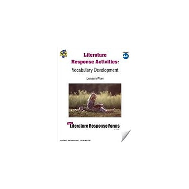 On The Mark Press Literature Response Activities: Vocabulary Development Grades 4-6 Workbook, Grade 4 - Grade 6 [eBook]