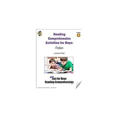 On The Mark Press Reading Comprehension Activities For Boys: Fiction Grade 6 Language Arts Workbook, Grade 6 - Grade 8 [eBook]