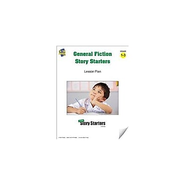 On The Mark Press General Fiction Story Starters Grades 1-3 Language Arts Workbook, Grade 1 - Grade 3 [eBook]