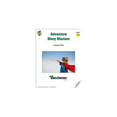 On The Mark Press Adventure Story Starters Grades 1-3 Language Arts Workbook, Grade 1 - Grade 3 [eBook]