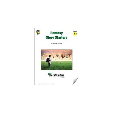 On The Mark Press Fantasy Story Starters Grades 1-3 Language Arts Workbook, Grade 1 - Grade 3 [eBook]