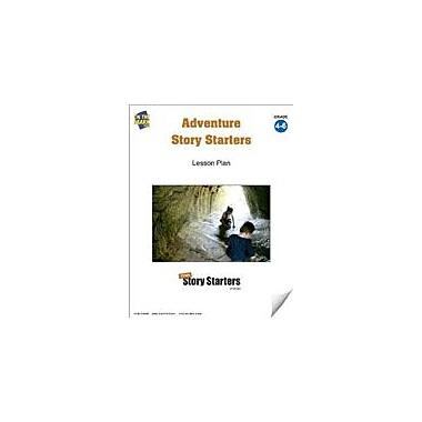 On The Mark Press Adventure Story Starters Grades 4-6 Language Arts Workbook, Grade 4 - Grade 6 [eBook]